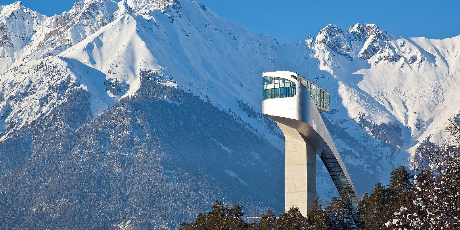 Bergisel Sprungschanze in Innsbruck © Innsbruck Tourismus / Christof Lackner