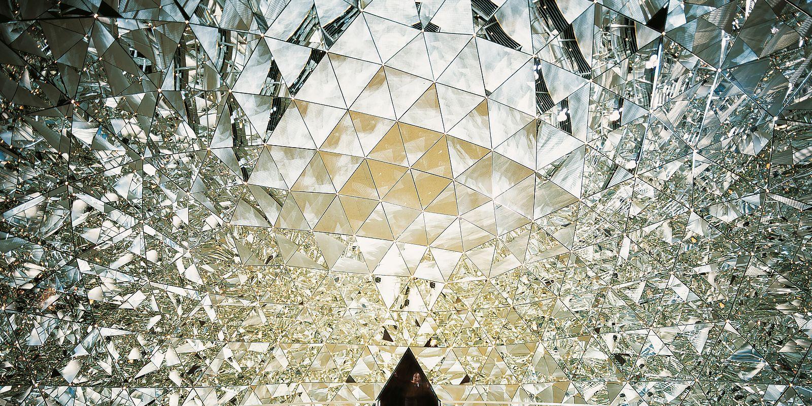 Kristalldom © Swarovski Kristallwelten / Walter Oczlon