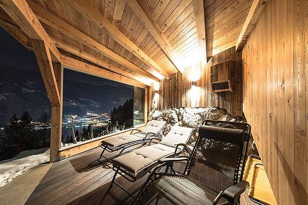 Sauna Außenbereich