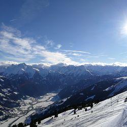 Ausblick Schneelandschaft
